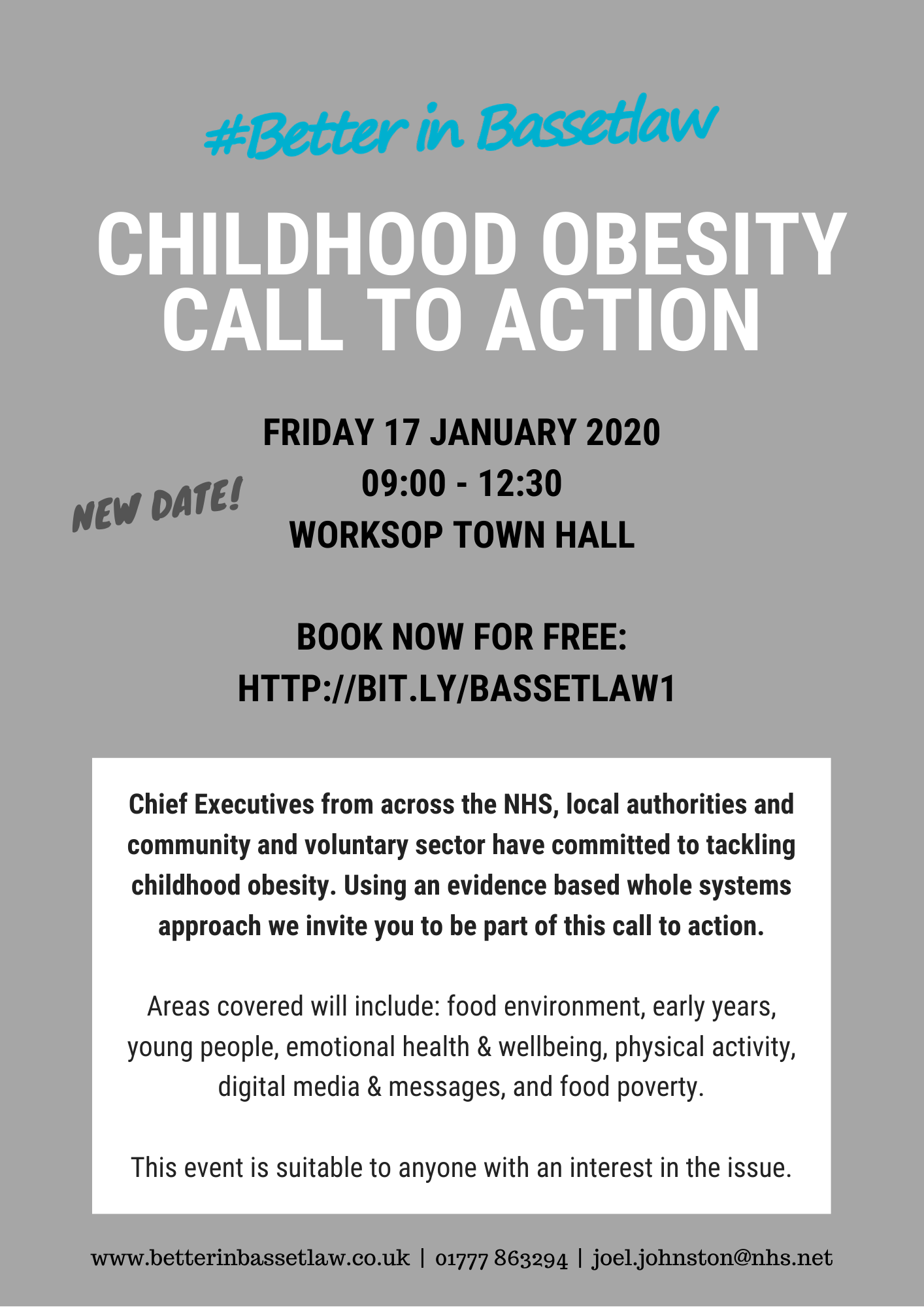 Bassetlaw Childhood Obesity Call to Action 17_01_20