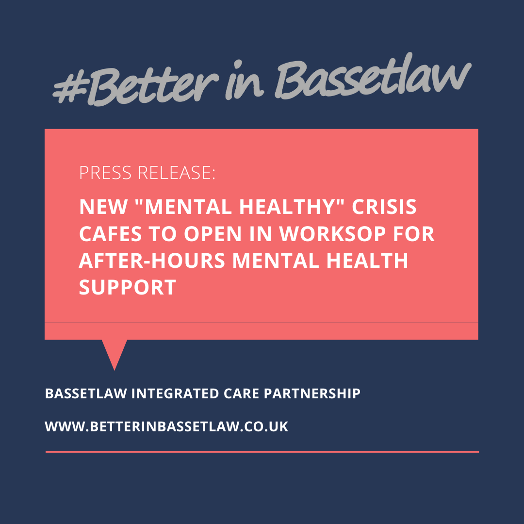 worksop crisis cafe mental healthy january 2020 better in bassetlaw