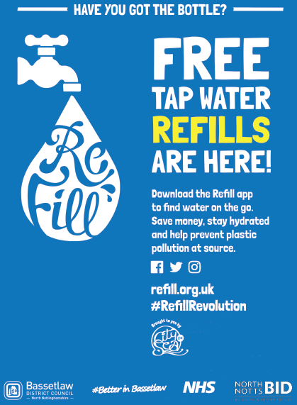 Refill Bassetlaw Poster