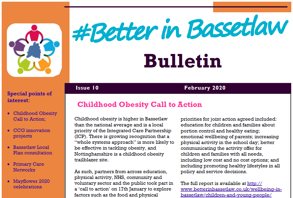top of front page_website slider - Better in Bassetlaw Bulletin February 2020
